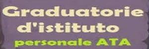Pubblicazioni provvisorie Graduatorie ATA