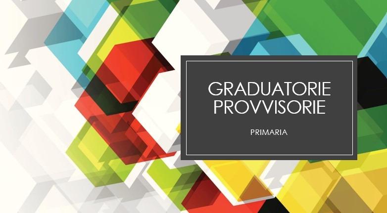 Ripubblicazione Graduatorie Interne Provvisorie Scuola Primaria