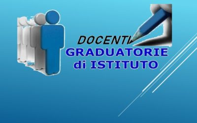 Graduatorie Interne Provvisorie Sec. 1° grado