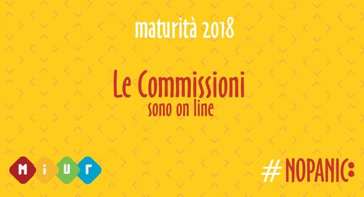 #Maturità 2018, on line le commissioni d'Esame